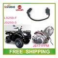 JIANSHE BASHAN LONCIN 250CC ATV КАТУШКИ ЗАЖИГАНИЯ QUAD аксессуары бесплатная доставка