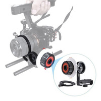 In Stock Damping Design High Strength Aluminum Alloy Camera Follow Focus With Gear Ring Belt Suitable