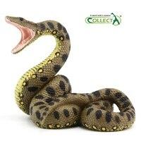 CollectA Green Anaconda Python Snake Animal Model Classic Toys For Boys 88688