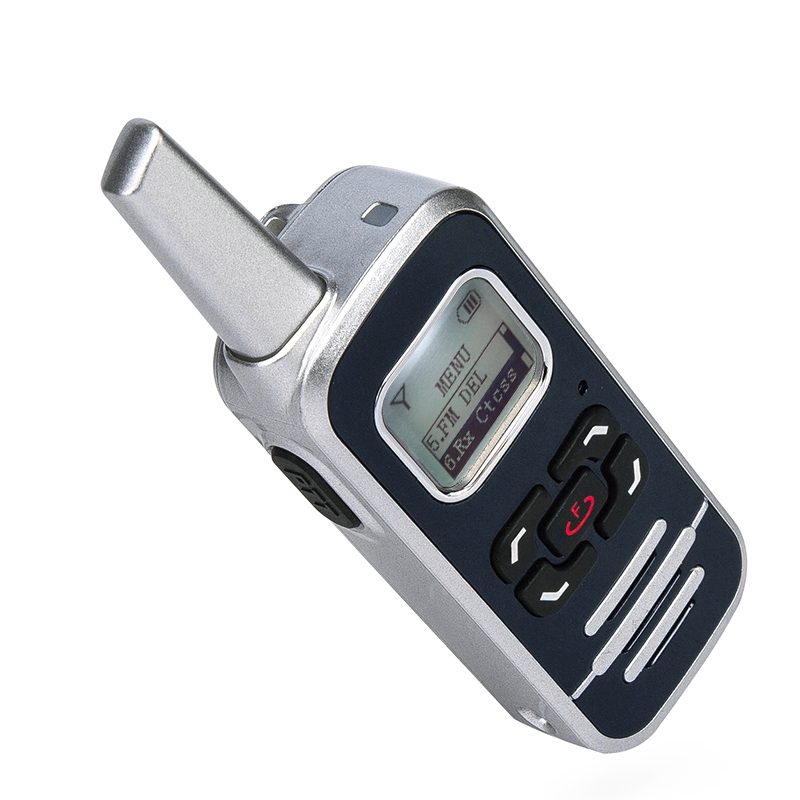 HOT SALE M6P 2W Two Way Radio 128 Channel 400-520mhz With LCD Display Ham FM Radio Mini Walkie Talkie