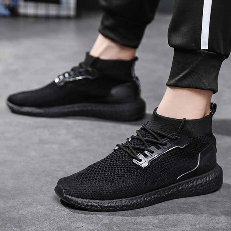 Aidenkid 2019 spring new sports and leisure men 39 s shoes fashion trend to help breathable socks shoes outdoor running shoes in Men 39 s Casual Shoes from Shoes