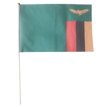 Zambia hand flag Vietnam flag flaying 20X30cm 10piece 10piece 100