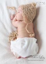 New arrival handmade baby boys girls Crochet hat newborn photo props infant hats accessories children Photography Props