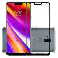 2.5D 9H Premium Tempered Glass for LG G7 Fit/G7 One/G7 ThinQ Full Coverage Screen Protector Protective Film for LG G7