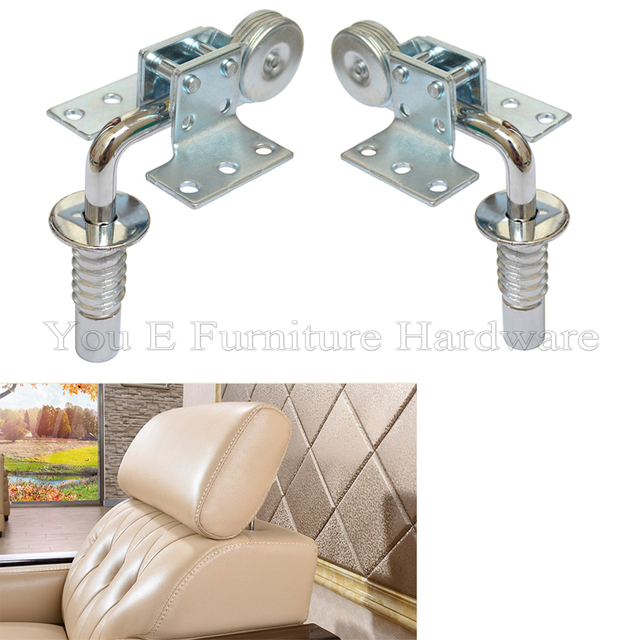 Furniture Fittings Sofa Headrest Adjustable Hinges D47 1 In Cabinet
