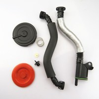 DOXA Oil Water Separator Exhaust Pipe + Rubber Cover Membrane Repair kit For A4 A5 Q5 Passat Bettle Eos Tiguan CC Octavia Seat