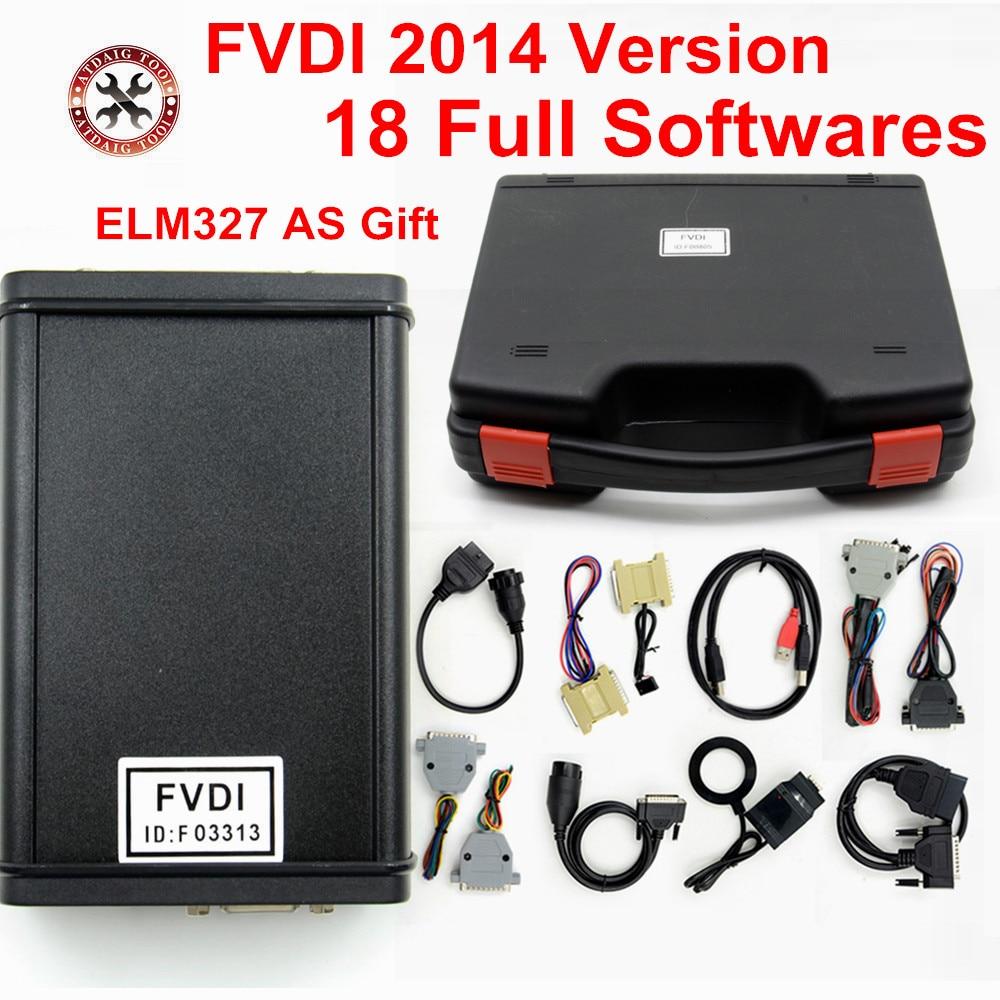 HOT SALE] NEW FVDI 2018 Full Version All function of VVDI2