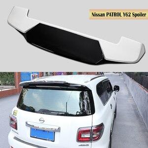 Asa traseira Spoiler Para Nissan PATROL Y62 2011-2020 Tronco Boot pintura Asas Spoilers ABS Rápido por EMS