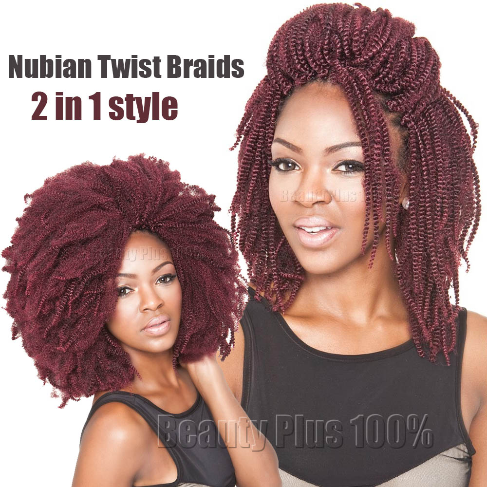 New Spring Curl Crochet Braids Synthetic Kinky Curly Hair Extensions