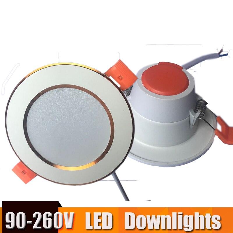 Spot led down light focos led techo led light downlight 3w 18w round 220v 110v for cocina living - Downlight led cocina ...