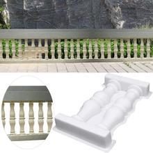 Римская ваза ограда с колоннами Пластиковая форма двойная ваза художественная форма-забор дорожка форма для бетона DIY ремесло украшения для домашнего сада декор
