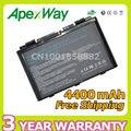 Apexway 4400 mah batería del ordenador portátil para asus x50 x5d x5e x5c X5J X8B X8D K40IJ K40IN K50AB-X2A K50ij K50IN K70IC K70IJ X5DIJ-SX039c