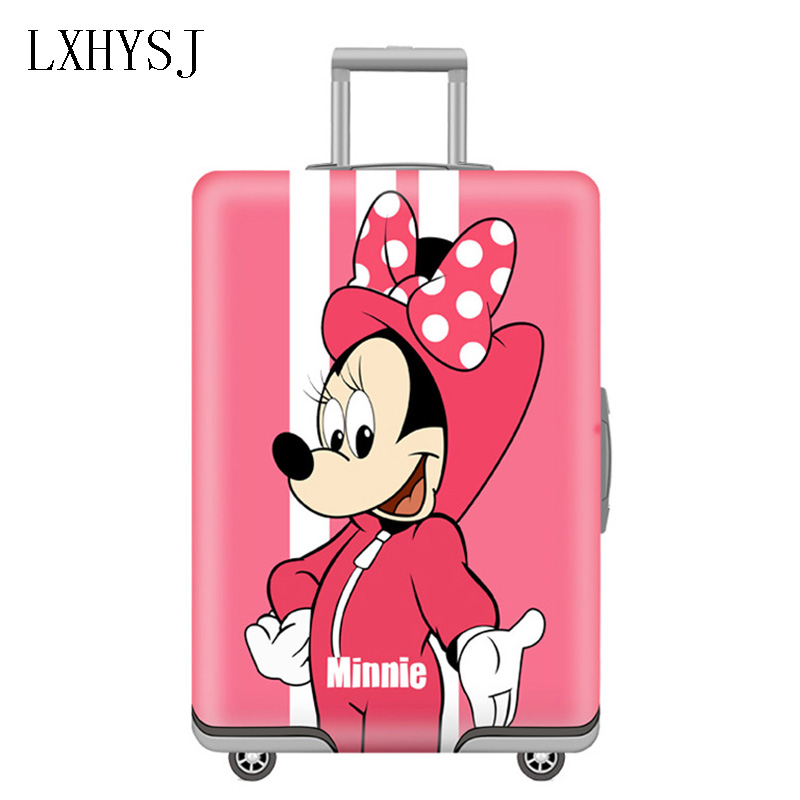 Animal Pattern Elasticity Luggage Cover Luggage Protective Covers  For 19-32 Inches Trolley Case Dust Cover Travel Accessories