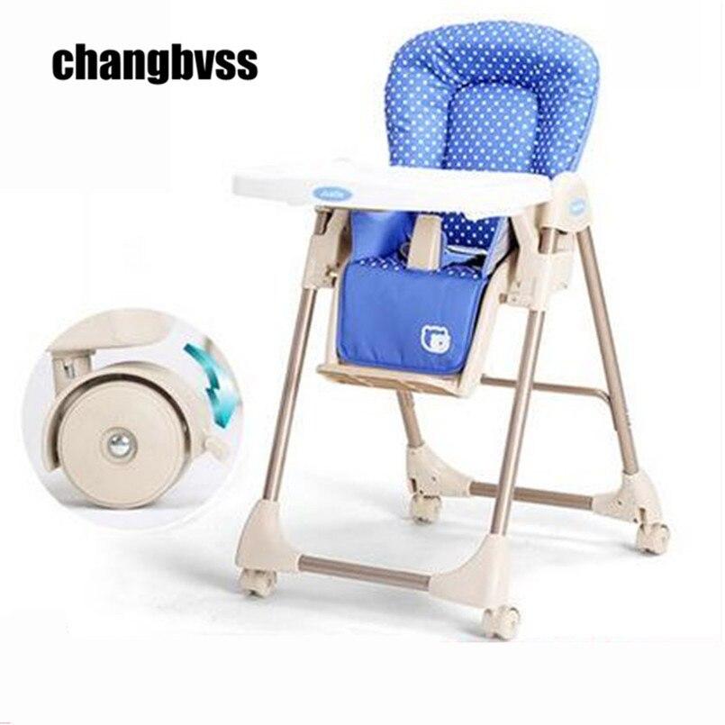 Младенческой стульчик складной разноцветный Портативный стульчик, безопасность ребенка стульчик для кормления Портативный, Детские спаль