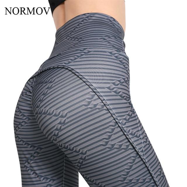 6b44bbfdcf NORMOV Women High Waist Workout Leggings 3D Digital Printing Fitness  Legging Activewear Sporting Jeggings Casual Pants