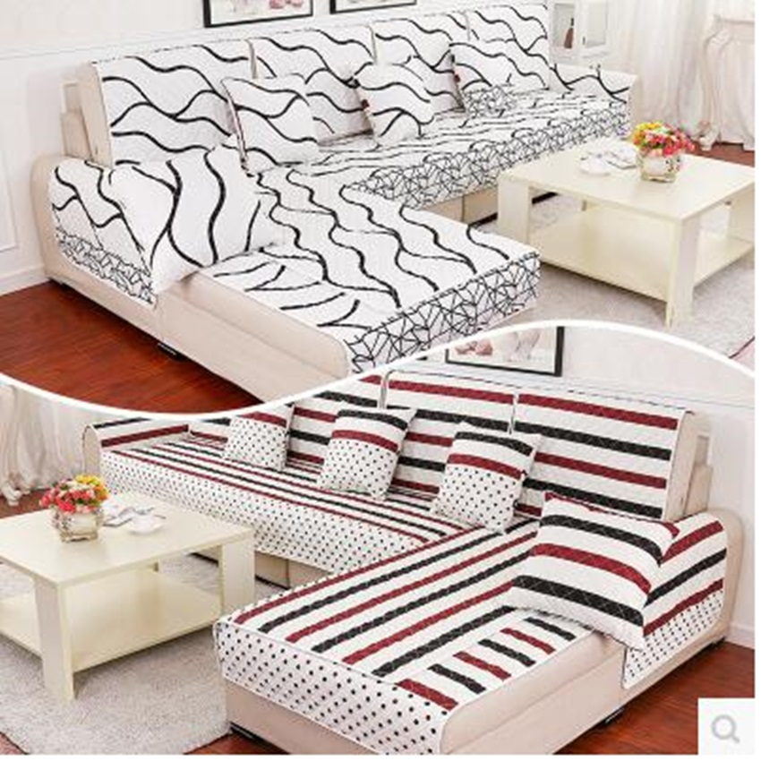 Double-sided non-slip sofa cover wedding decoration covers on the sofa case for sofa a blanket on the sofa