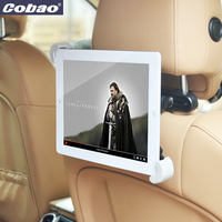 For 9 10 11 Inch 360 Degree Car Back Seat Headrest Mount Bracket Holder Support For