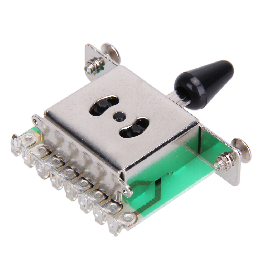 5 Way Selector Electric Guitar Pickup Switches Toggle Lever Switch ...