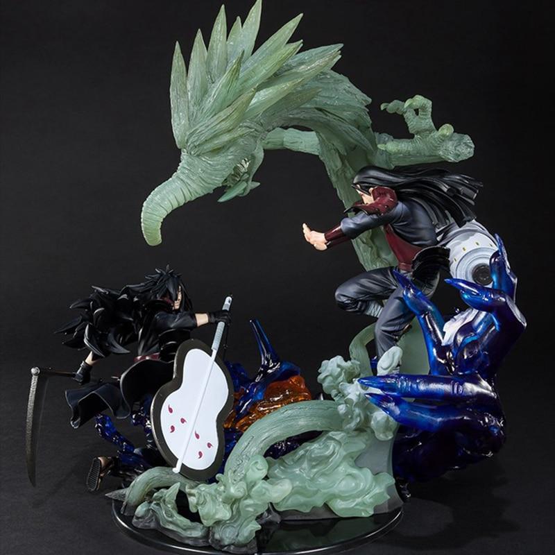 New Naruto PVC Action Figure Zero Uchiha Itachi Fire Sasuke Susanoo Kakashi Minato Kurama Relation Madara Senju Hashirama Toys