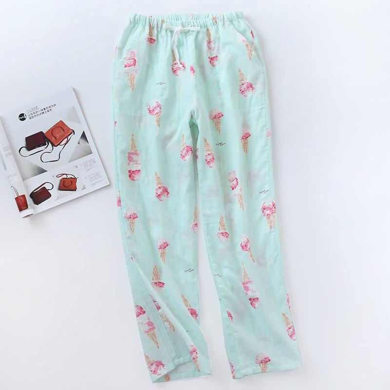 Casual Trousers For Women Pajamas Pant Loose Long Sleep Pant Print Women\'S Home Pants Lounge Pijama Femme Pajama Pants