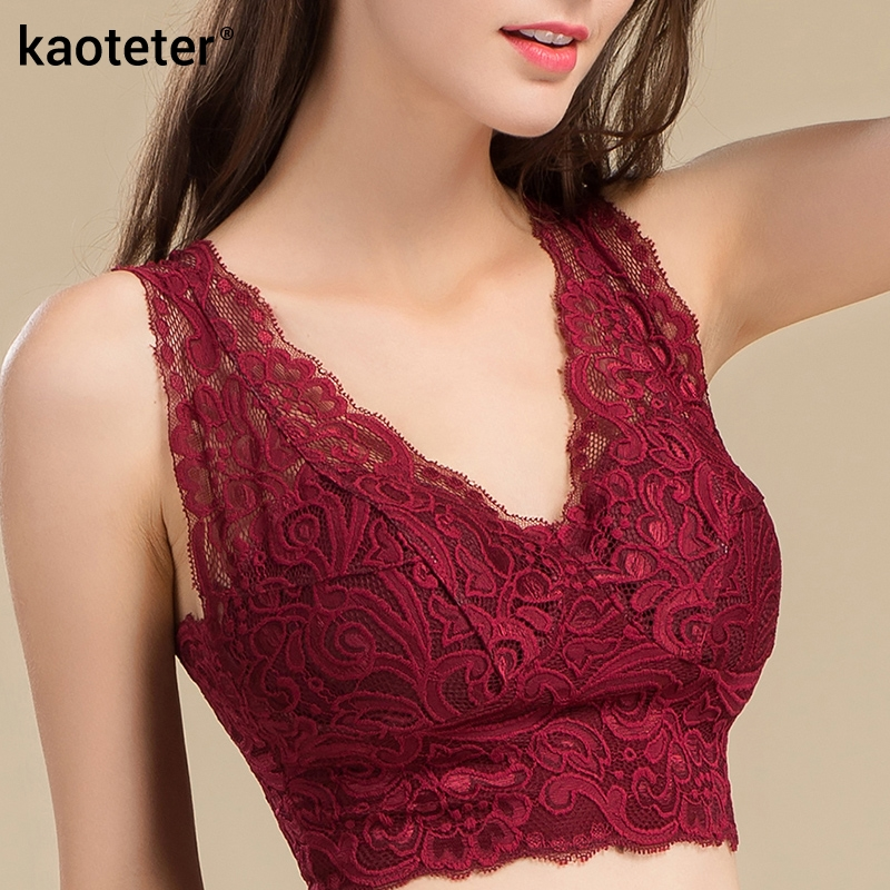 100% Pure Silk Womens Bras (But Lace) Women Sexy Lace Harness Thin With Chest Pads Wrapped Female Without Steel Ring Bra Woman