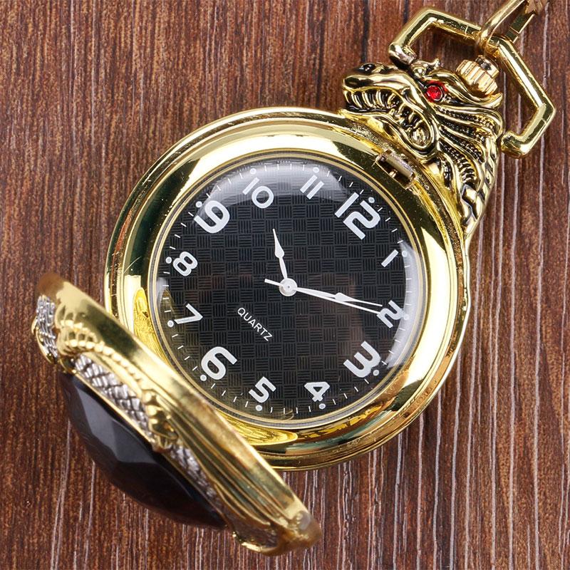 Zegarki kieszonkowe FOB Zegarek wisiorek Zegarek kwarcowy Jewel Evil - Zegarki kieszonkowe - Zdjęcie 2