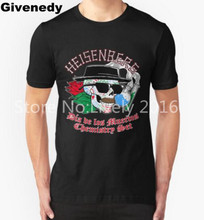 Chemistry is Fun breaking bad Brand Men Summer T Shirts Heisenberg Design Printed 100% Cotton Geek Tee Quality Customized