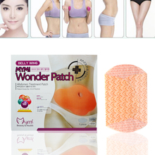 40Pcs Slimming Patch Chinese Traditional Medicine Navel Stick Slim Patch Lose Weight Burning Fat Plaster  D026