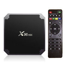 Original X96 mini Android 7.1.2 TV BOX Amlogic S905W Quad Core Suppot H.265 UHD 4K 2.4GHz WiFi X96mini Set Top box