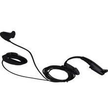 Earpiece Headset for walkie talkie earphone PRO Ear vibration w/cable control & MIC for Moto GP344 GP388 GP328Plus GP338Plus