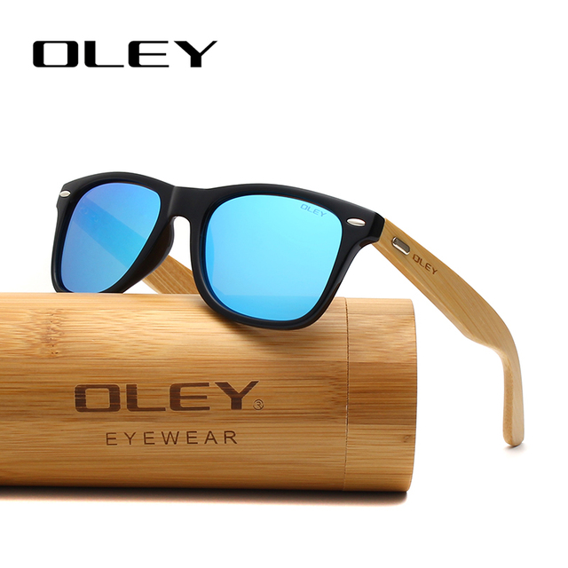 OLEY Bamboo Leg Polarized Sunglasses 3