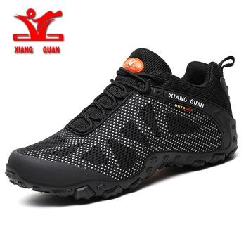XIANGGUAN new hiking shoes men outdoor runnig sports shoes for men breathable mesh unisex shoes slip resistant wear couple shoes
