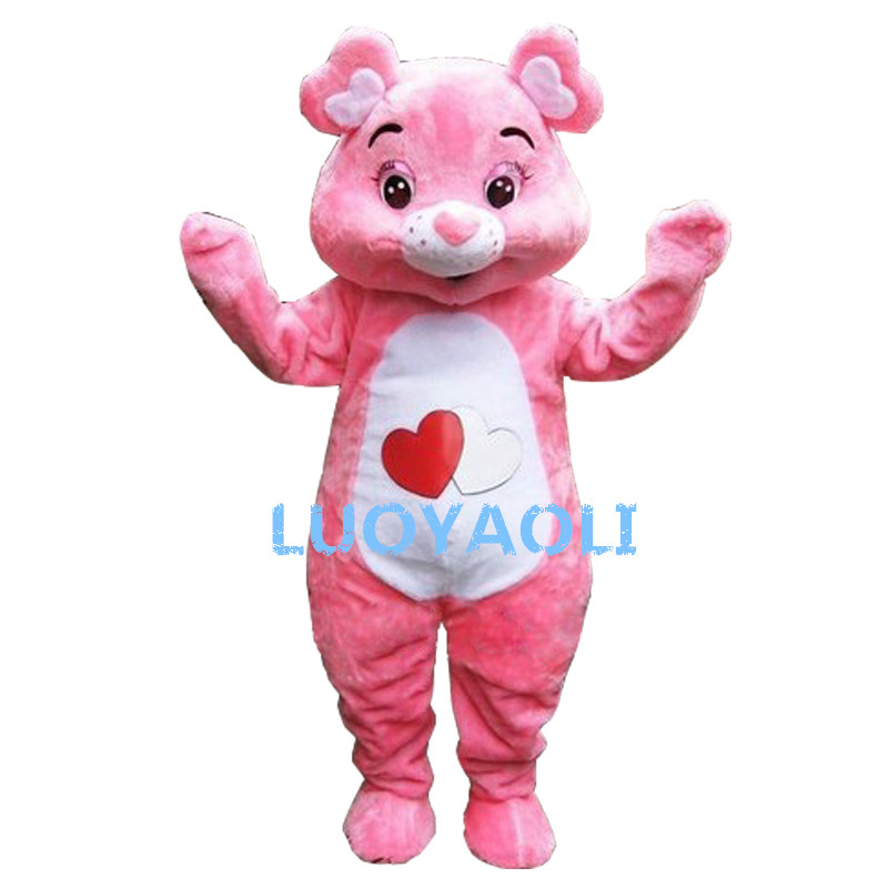 Care Bear Mascot Costume Custom Fancy Costume Anime Cosplay Mascotte Theme Fancy Dress Carnival Costume