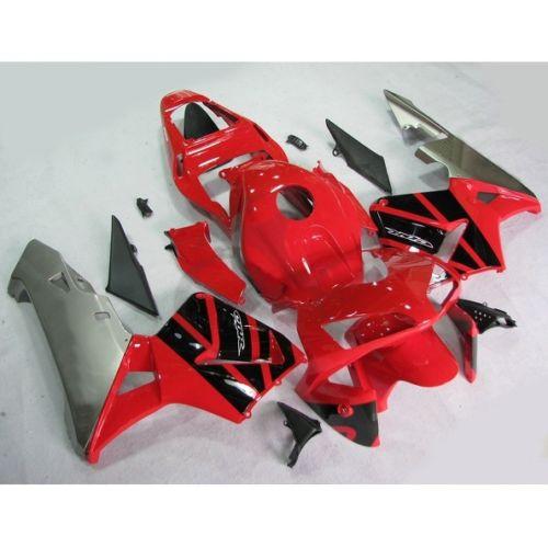 Пластиковые Обтекателя кузова комплект подходит для Honda ЦБ РФ 600 литья РР клавишу F5 2003 2004 7А carenado ЦБ РФ 2003