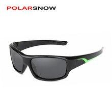9944b103e665a POLARSNOW Crianças Óculos De Sol 2017 Polarized Marca Designer Óculos de Sol  Das Crianças Óculos 100% Proteção UV Oculos de sol .