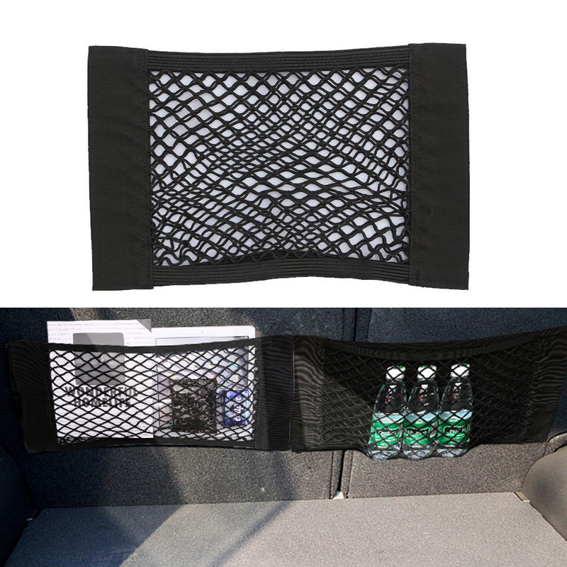 Image 1 - Car Trunk luggage Net For Volkswagen VW Polo Passat B5 B6 CC GOLF 4 5 6 Touran Bora Tiguan Peugeot 307 206 308 407 Accessories-in Car Stickers from Automobiles & Motorcycles