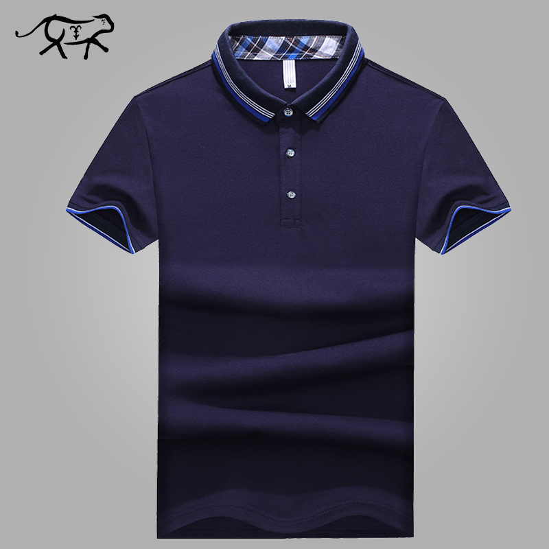 Summer Style   Polo   Shirt Men Fashion Casual Short Sleeve Camisa Men's   Polo   Slim Fit Cotton Poloshirt Homme Plus Size 5XL Brand
