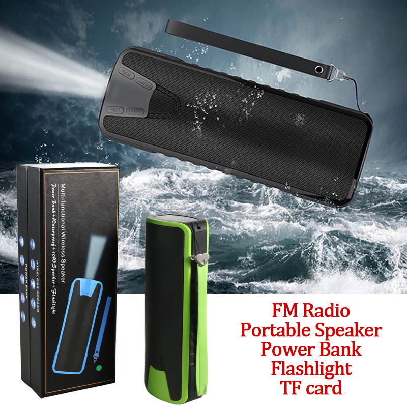 EPIC Portable Wireless Speaker Bluetooth with TF card FM