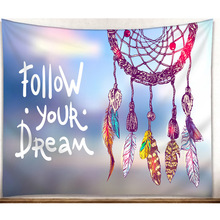 Decorative Dream Catcher Tapestry Bohemian Wall Hanging Tapestry Boho Throw Beach Towel Blanket Carpet Wall Art Decor Tapestry new printed wall hanging tapestry world map tapestry beach towel blanket carpet rectangular tablecloth room decorative tapestry