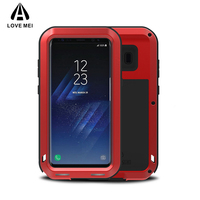 LOVE MEI Brand Aluminum Metal Case For Samsung Galaxy S8 5 8 Inch Shockproof Armor Rugged