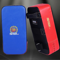 Hot Sale PU Leather Kick Pad MMA Boxing Kick Punching Target TKD Training Gear Karate Wushu