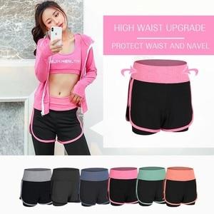 Image 4 - Женская спортивная одежда, комплект одежды для йоги, тренажерного зала, фитнеса, бега, бега на открытом воздухе, тренировочный Быстросохнущий комбинезон