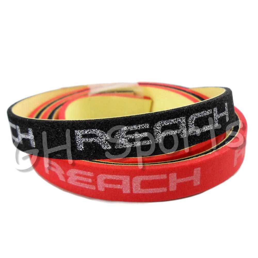 2x Reach Table Tennis Edge Tape 8mm Wide for Ping Pong Racket