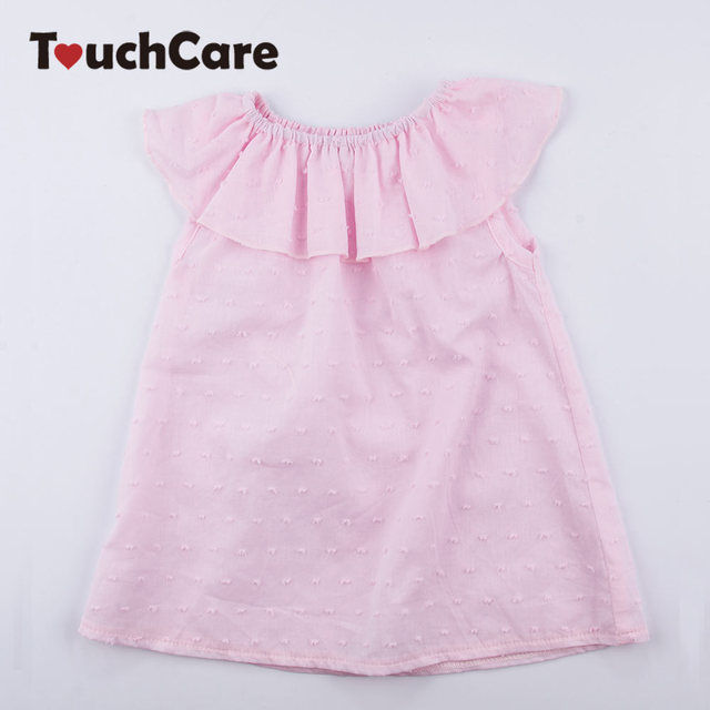 f9cfb39369 Baby Girls Sleeveless Dresses Newborn Summer Ruffles Clothes Infant 1st  Birthday Christening Dress Party Wedding Princess Robe