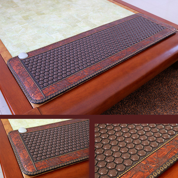 High Quality Tourmaline Germanite Jade Products Korea Thermal Jade Mattress Sofa Jade Mat Infrared Heating Mat Free Shipping free shipping germanite pad heating mattress sofa cushion thermal brown six corner ocher mat 0 5 1 5m 220v