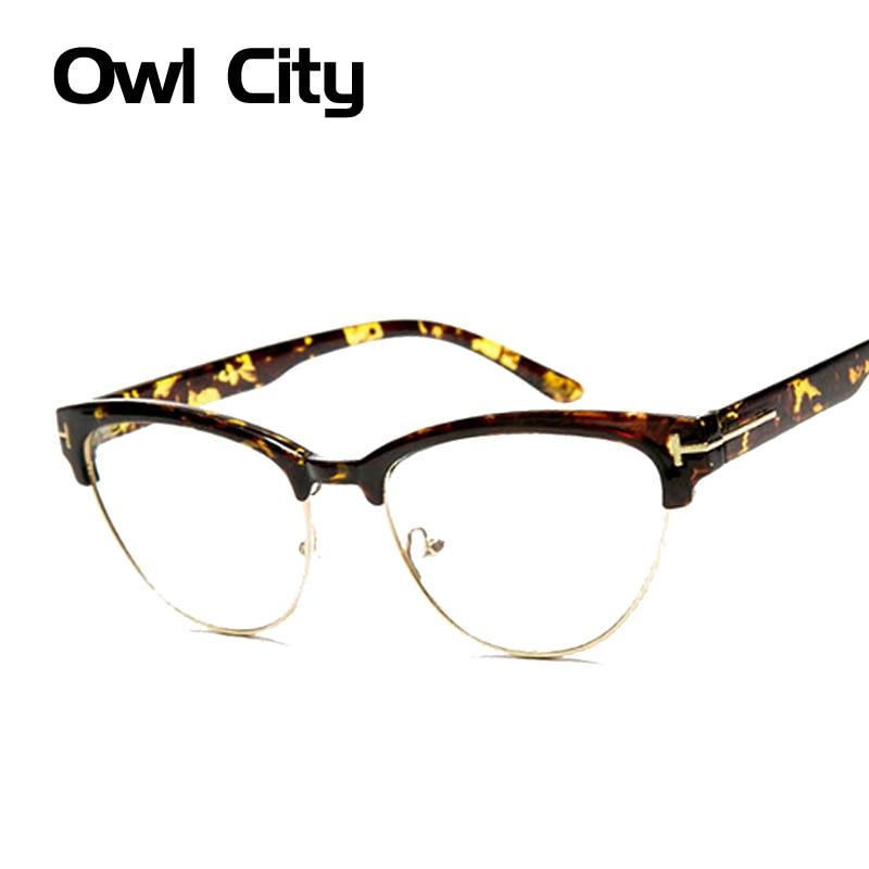 Aliexpress.com : Buy Womens Elegant Half frame cat eye ...