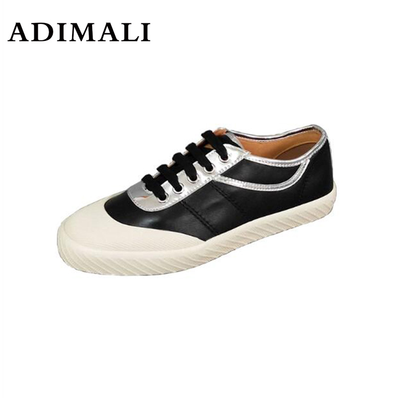 Women Causal Shoes Summer/Autumn Flats Women Canvas Shoes Classic Lace Up White/black Walking Fashion Lace Up Ladies 982118319395 xtep 2018 new fashion street women s bowknot stan bow tie lace up white black skateboard shoes