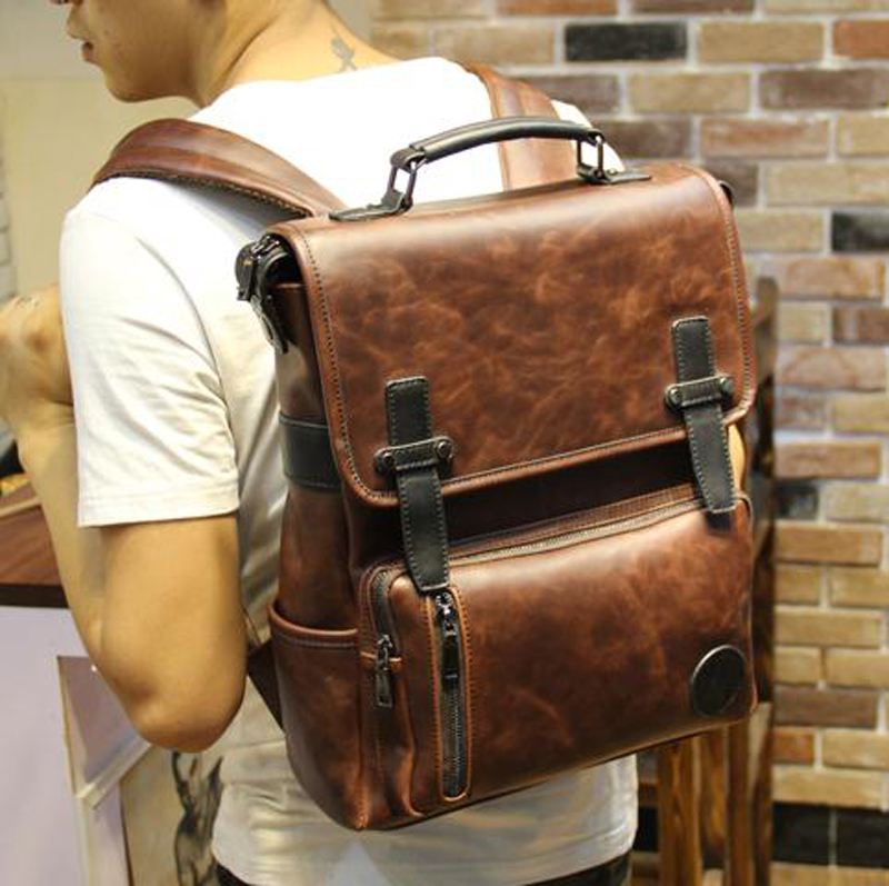 Aliexpress.com : Buy New Leather Backpack Faux Leather School ...