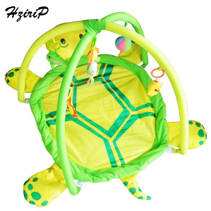 HziriP Cartoon doux bébé tapis de jeu bébé garçons filles Gym couverture Puzzle tapis jouets ramper jeux tapis pour enfants jouet éducatif