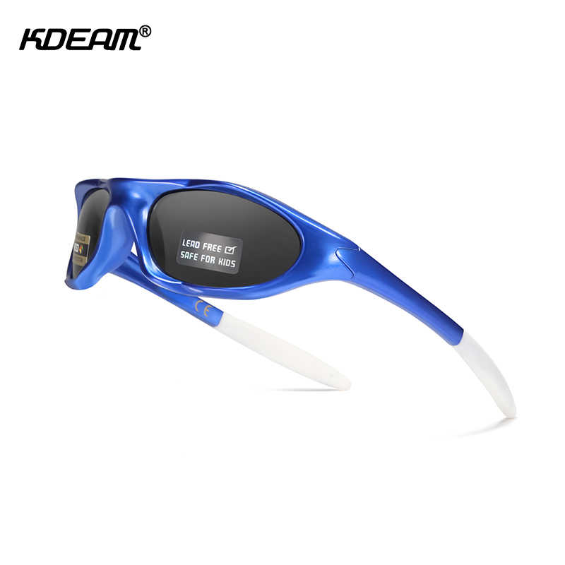 Long Keeper TR90 Unbreakable Polarized Sunglasses for Boys Age 3-10 Kids Sport Glasses